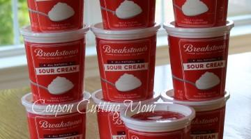 Weis: $1 Breakstone's Sour Cream (Reg. Price $2.19)