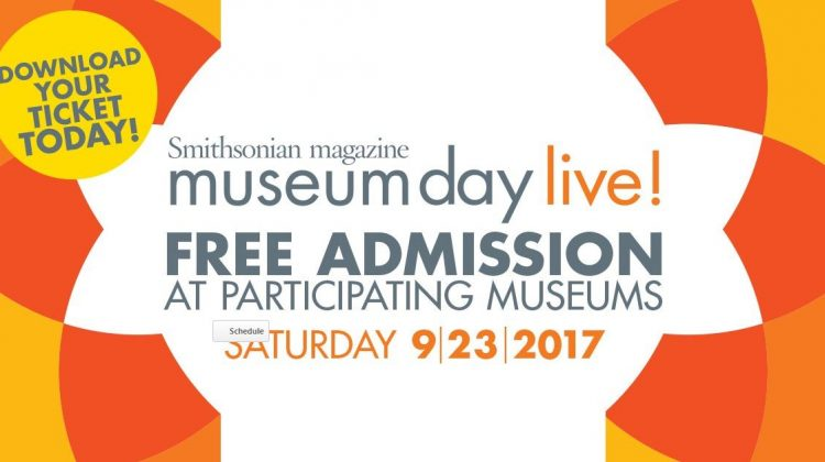 Museum Day Live! Free Museum Entrance on September 23, 2017