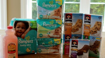 Weis Shopping Trip: $48 Worth of Pampers, Quaker Bars and More ONLY $17