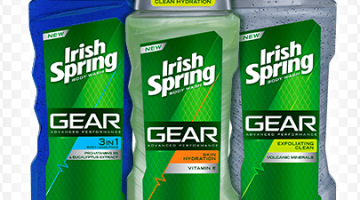 Rite Aid: FREE Irish Spring Gear Body Wash