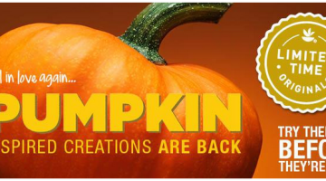 Celebrate Fall With All Things Pumpkin at GIANT and a $25 Giant Gift Card Giveaway