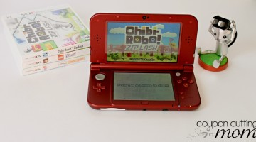Chibi-Robo Zip Lash and the New Nintendo 3DS XL Game System