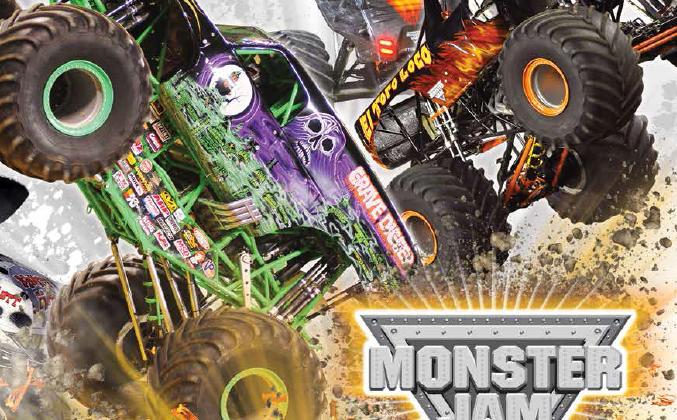 monster jam wells
