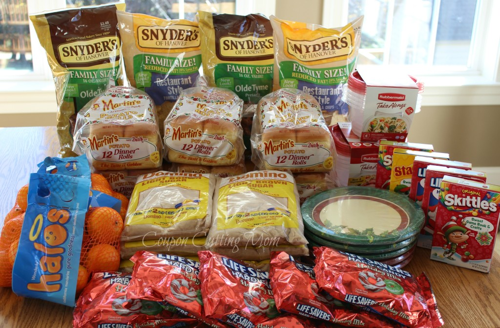 Giant Shopping Trip: $102 Worth of Martin's Rolls, Domino, Halos and More ONLY $3.37