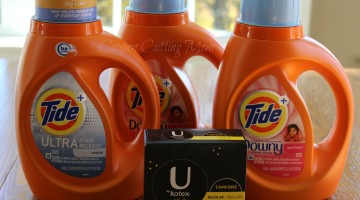 CVS Shopping Trip: 91% Savings on U by Kotex and Tide Detergent