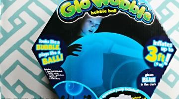 Glo Wubble Bubble Ball for Lots of Glow in the Dark Fun