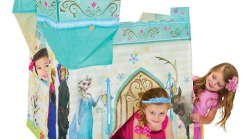 Frozen Royal Castle Play Tent ONLY $9.98 (Reg. Price $39.99)