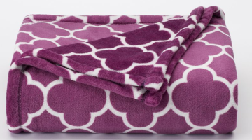 The Big One Super Plush Throw ONLY $7.64 (Reg. $39.99)