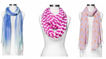 Check Out These Lovely Scarves On Sale For Only $5.24 (Reg. $14.99) at Target