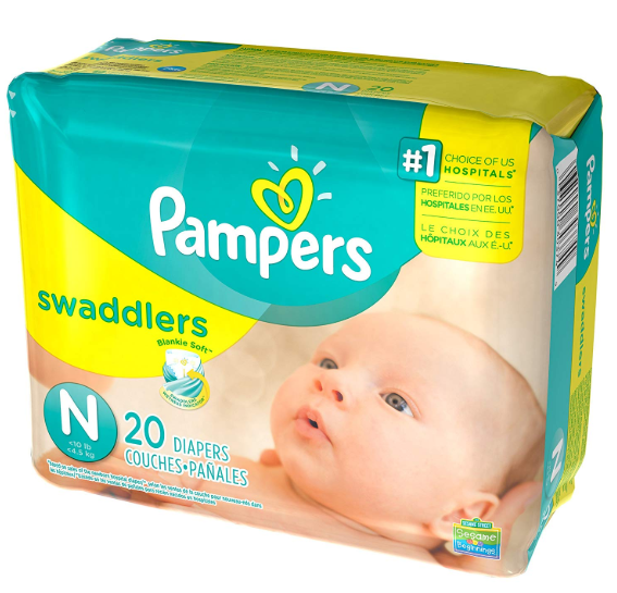 Pampers Swaddlers Jumbo Pack Diapers ONLY $3.97 at Walmart