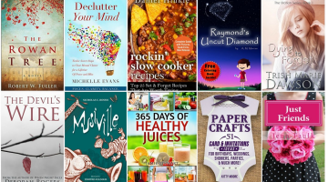 Free ebooks: Declutter Your Mind, 365 Days of Healthy Juices + More Books