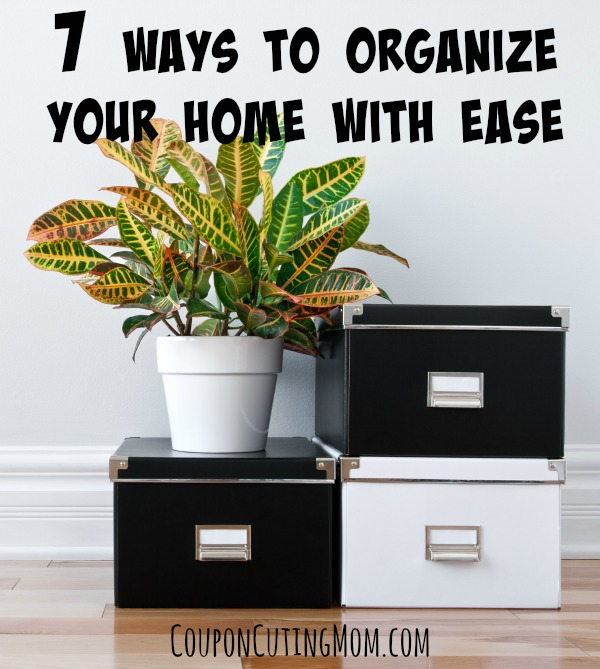 7 easy how to organize your home tips coupon cutting mom for How to organize your home