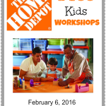 Build a Valentines Mailbox at the FREE Home Depot Kids Workshop