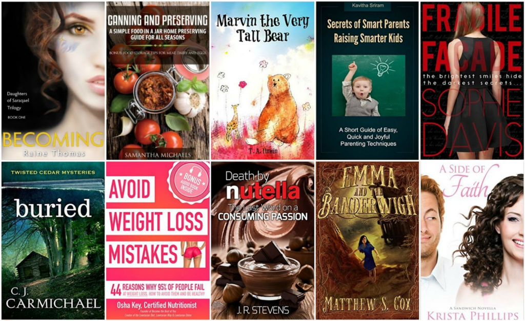Free ebooks: Canning and Preserving, Buried + More Books