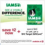Save Money With This IAMS Target Offer