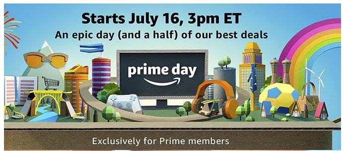 Amazon Prime Day Is July 16 With More Deals Than Black Friday