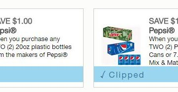 *HOT* Rare Printable Pepsi Coupons