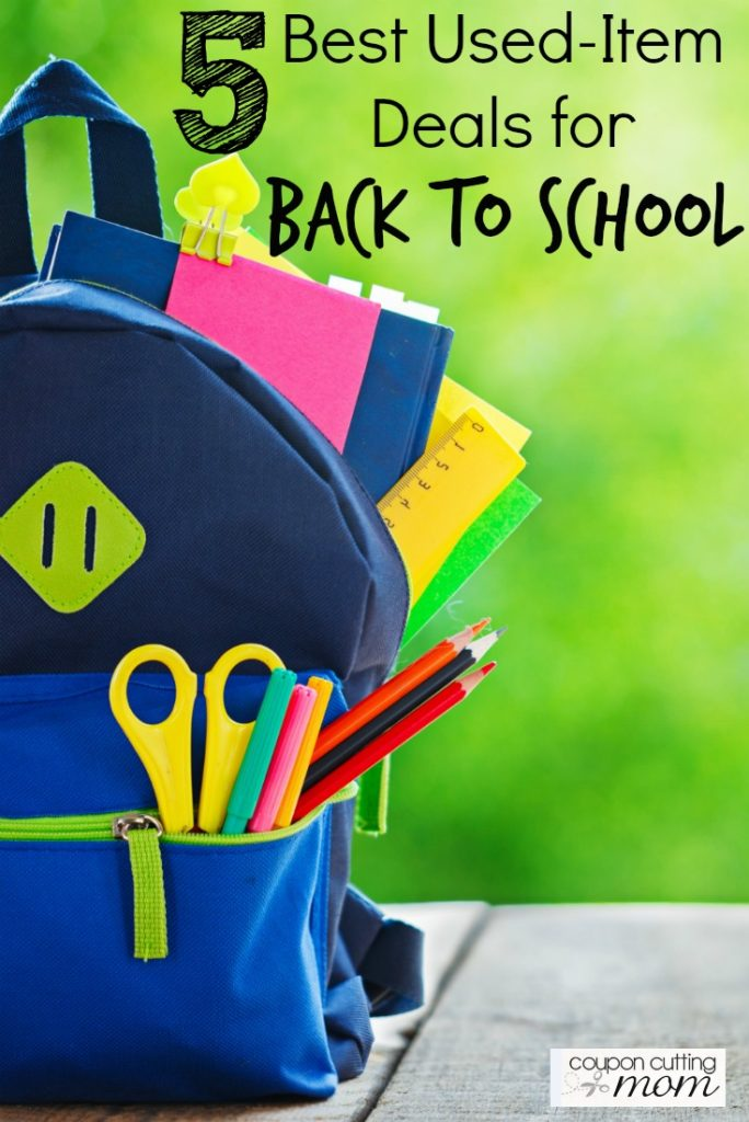 5 Best Used-Item Deals for Back to School