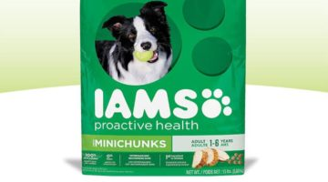 $1 Coupon + Gift Card Offer on IAMS Dog Food at Target