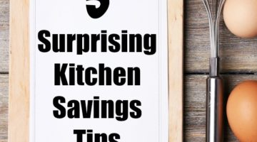 5 Surprising Kitchen Savings Tips