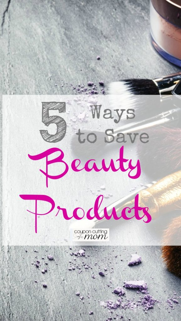 5 Ways to Save on Beauty Products
