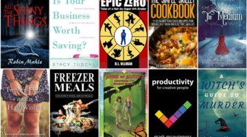 Free ebooks: Freezer Meals, Epic Zero + More Books