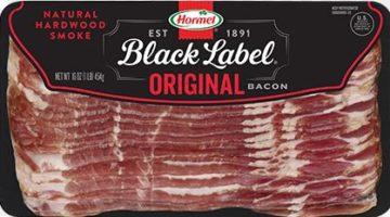 Hormel Black Label Sliced Bacon ONLY $2.49
