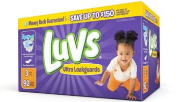 Save Money With a Luvs Diaper Coupon