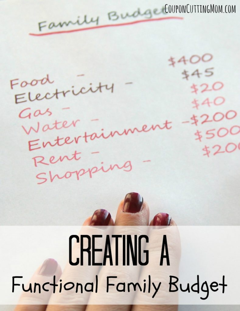 creating-a-functional-family-budget