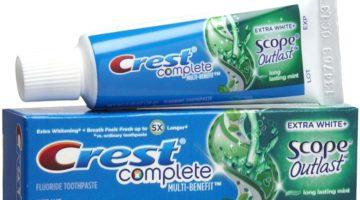 Giant: Crest Toothpaste FREE + $3.74 Moneymaker
