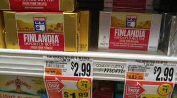 FREE Finlandia Imported Butter at Giant