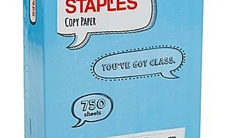 3 Reams of  Staples Copy Paper ONLY $0.10 (Reg. Price $8.99)