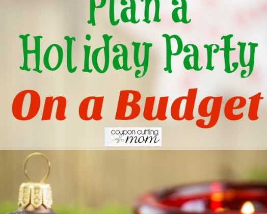 Plan a Holiday Party On a Budget