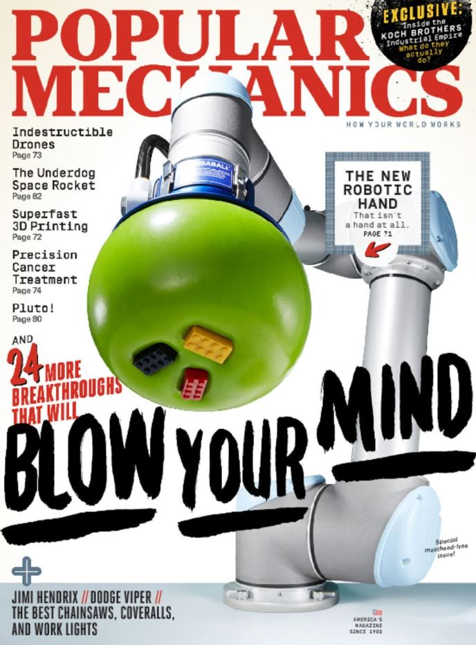 Popular Mechanics Magazine Subscription - 91% off Regular Cover Price