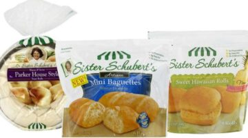 FIVE Packs of Sister Schubert's Rolls FREE at Giant Food