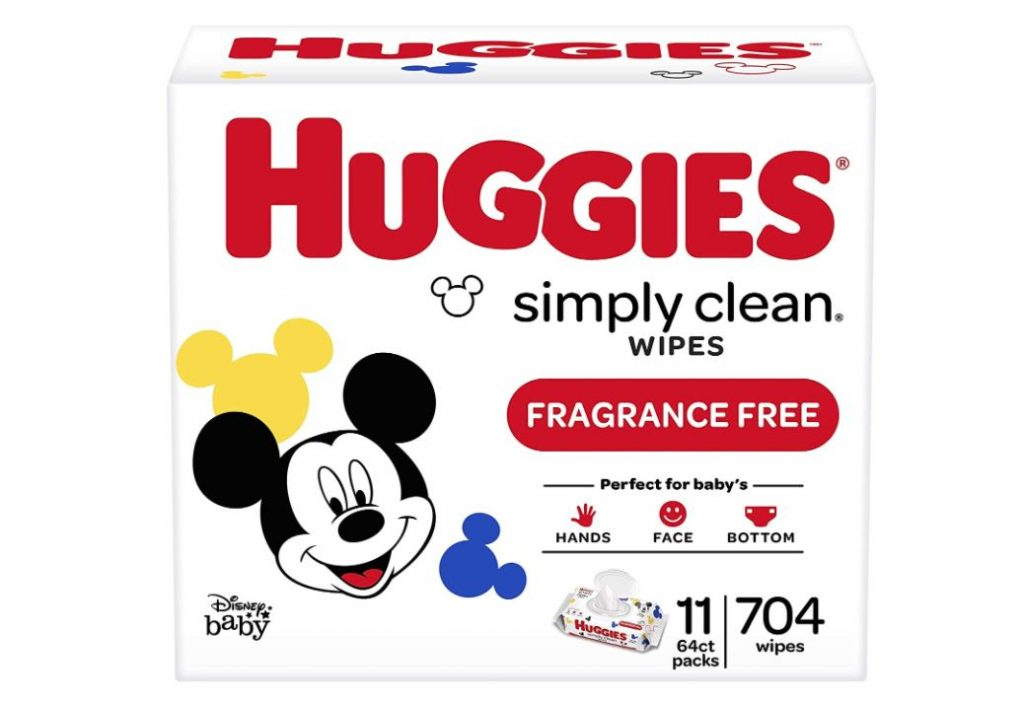 Huggies Simply Clean Baby Wipes 704 Count Only $12.46 - Regular Price $17.99