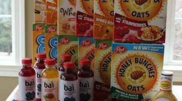 Giant Shopping Trip: $64 Worth of Post Cereal, Bai Drink and More ONLY $4.47