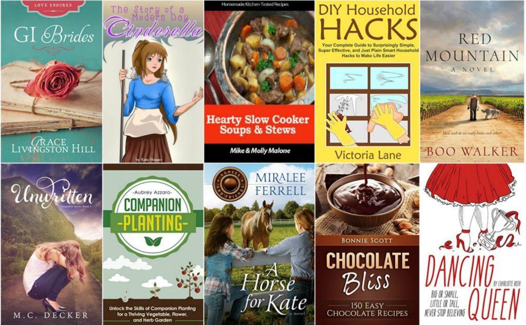 Free ebooks: DIY Household Hacks, Red Mountain + More Books