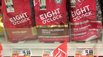 Giant: Eight O'Clock Coffee ONLY $1.85 Each (Reg. Price $5.69)