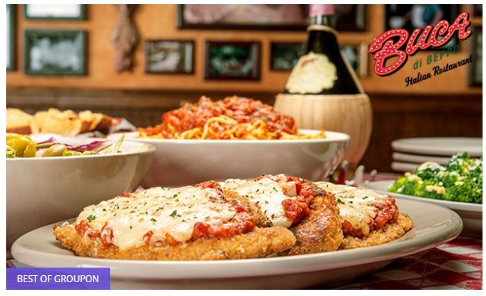 Save 50% on Family-Style Italian Cuisine at Buca di Beppo
