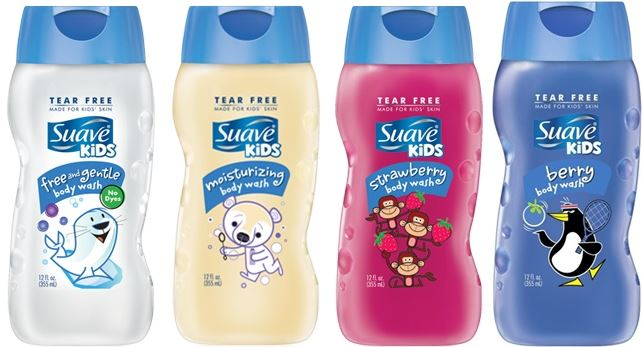 Suave Kids Body Wash ONLY $0.39 at Target