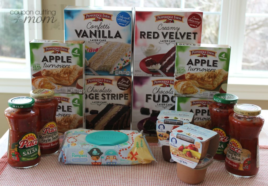 Giant Shopping Trip: $47 Worth of Pepperidge Farm, Pace and More FREE + $1.51 Moneymaker!