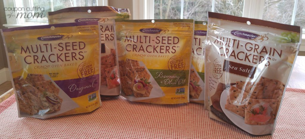 Giant Shopping Trip: $18 Worth of Crunchmaster Crackers FREE + $5 Moneymaker!
