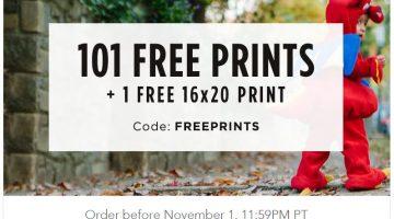 Shutterfly: 101 FREE 4×6 Photo Prints