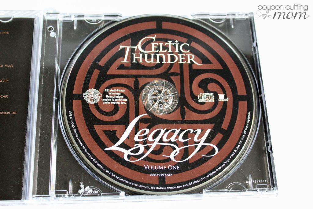 Legacy Recordings Presents Celtic Thunder Legacy