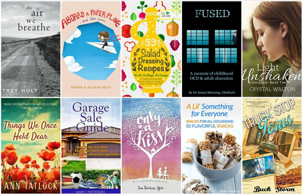 Free ebooks: Garage Sale Guide, Salad Dressing Recipes + More Books