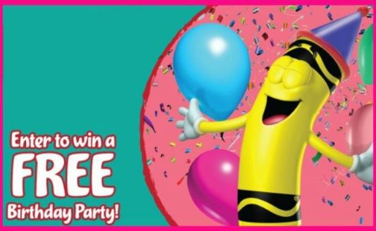 Crayola Experience Birthday Party Giveaway