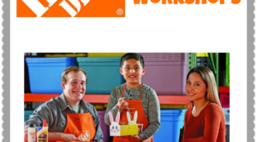 Build a Bunny Basket at the FREE Home Depot Kids Workshop