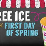FREE Rita's Italian Ice First Day of Spring March 20, 2018