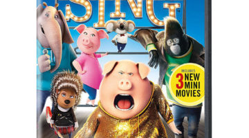 Sing DVD ONLY $7.99 (Reg. Price $20.99)